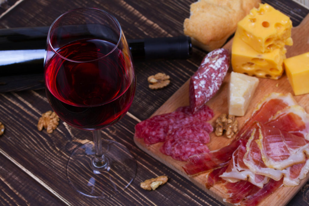 Spanish wine and cuisine