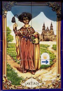 Santiago pilgrim