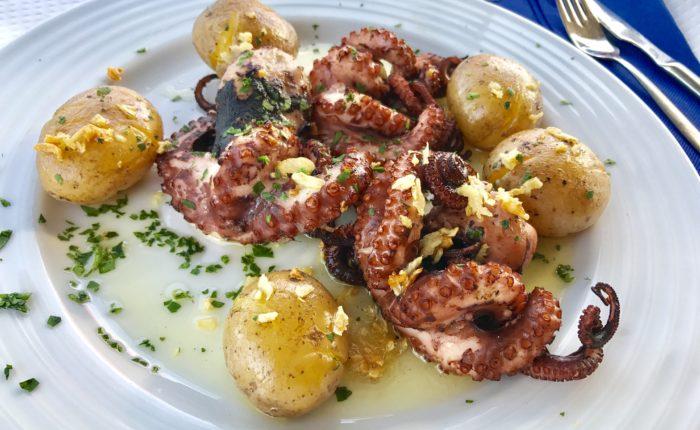 pulpo camino de santiago cuisine