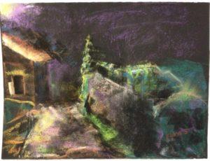 Camino de Santiago painting