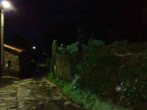 Night Camino de Santiago